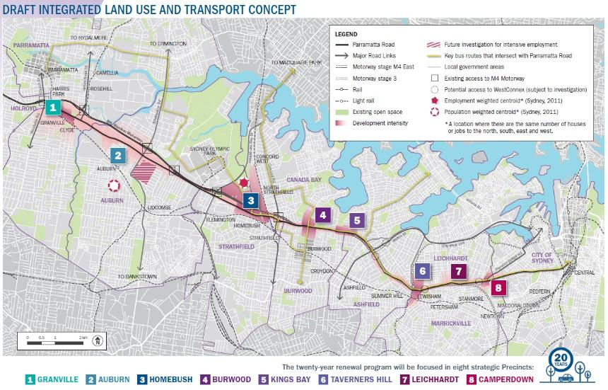 Draft Parramatta Road Urban Renewal Strategy News by TRANPLAN - Affordable Town Planners & Heritage Consultants